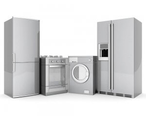 Kühlschrank Trockner Herd Waschmaschine